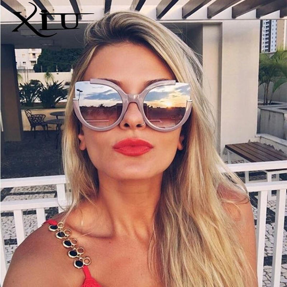 Round Shade Summer Fashion Sunglasses Women Vintage Brand Designer Glasses For Ladies Gafas Retro Oculos UV400