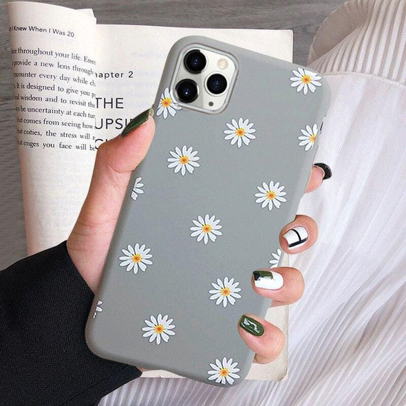 Art Floral Daisy Phone Case For iPhone