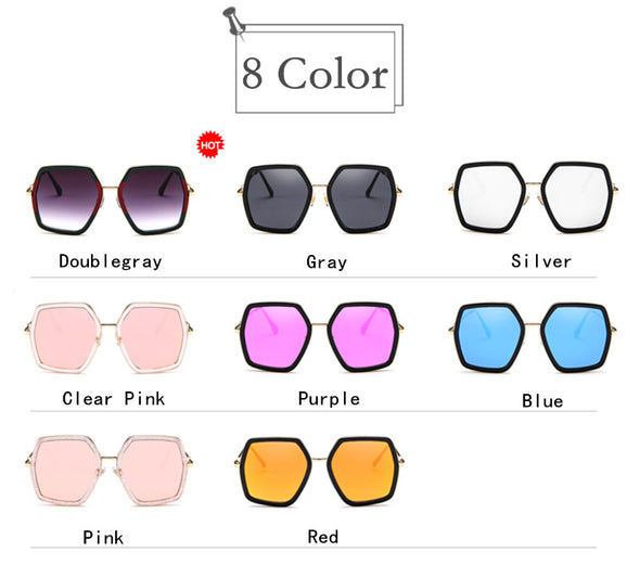 Macarons!2020 NEW Oversized Square Sunglasses