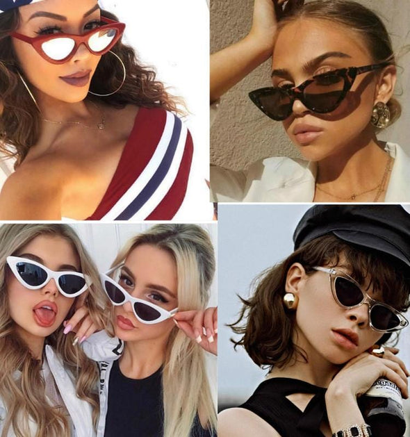 Sexy Cat Eye Vintage Sunglasses