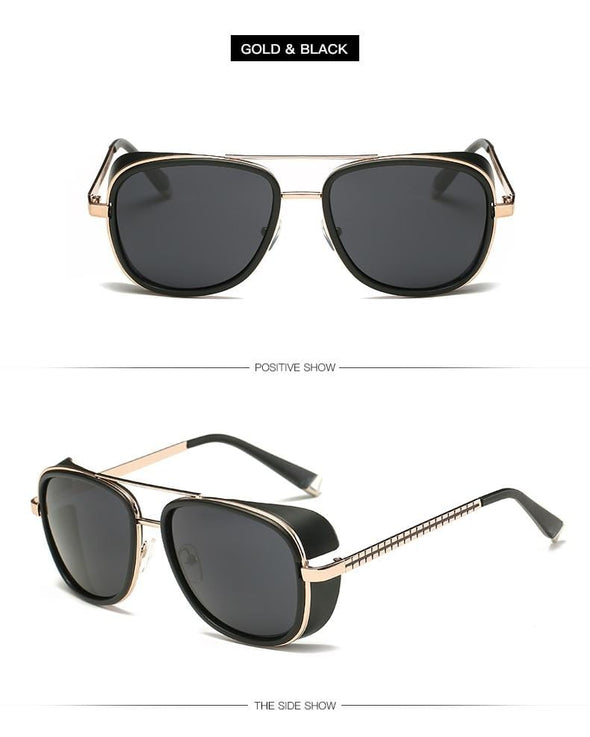 2020 Steampunk ton stark Iron Man 3 sunglasses