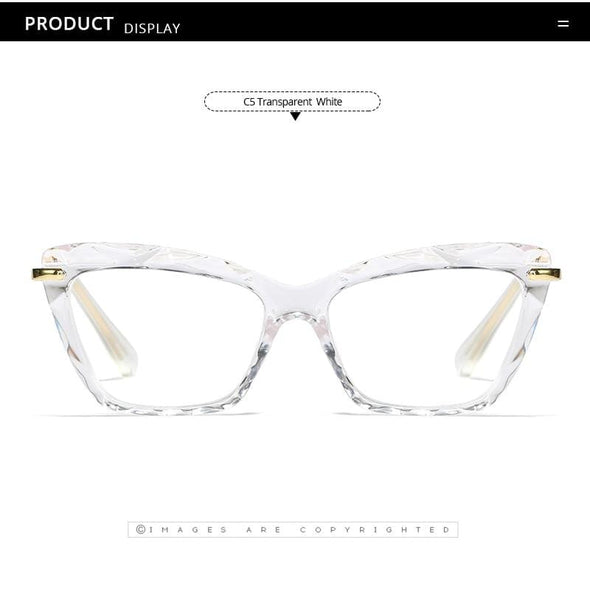 Sexy Cat Eye Square Glasses