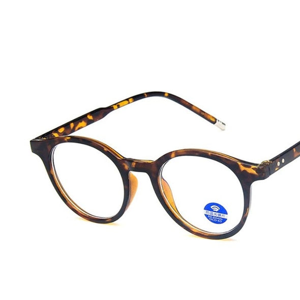 Leopard Optics Spectacles Round Glasses