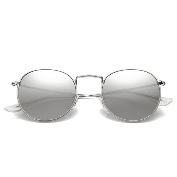 Free Trial - Small Metal Frame Retro Sun Glasses