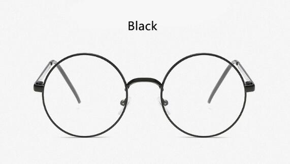 Classic Round Transparent Glasses Eyeglass Frame