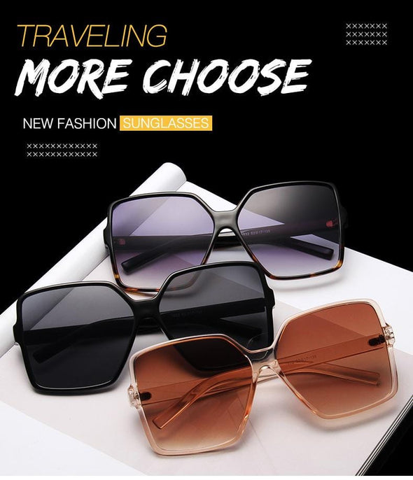 big square oversized sunglasses black designer gradient polarized sunglasses sale