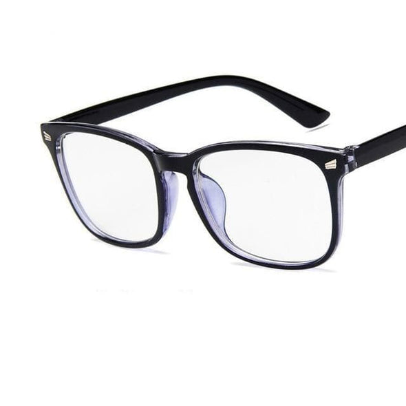 Womens Sexy Vintage UV400 Spectacle Square Glasses