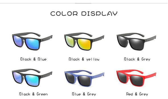 Sunglasses Kids Girls Boys Polarized Children Sun Glasses PC UV Protection Eyeglasses
