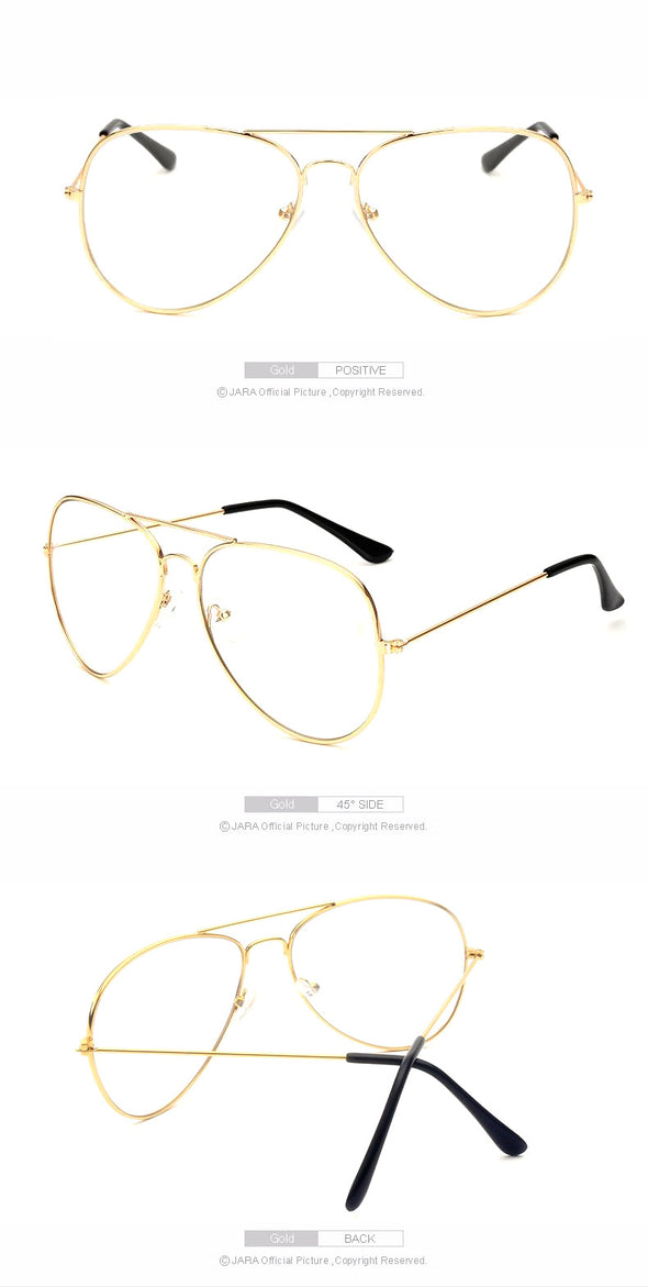Clear Glasses Retro Eyeglasses Fashion Eyewear Frame