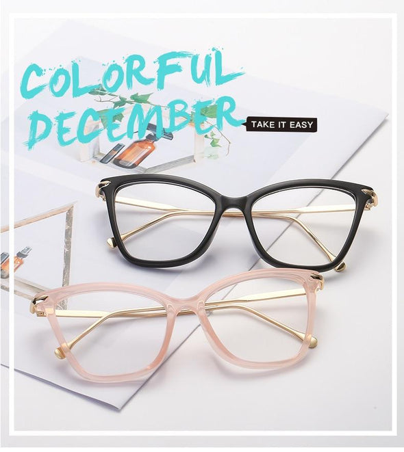 Women's Sexy Cat Eye Glasses Frames