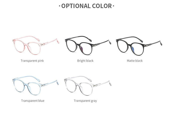 Women Transparent Vintage Round Clear Glasses 2021