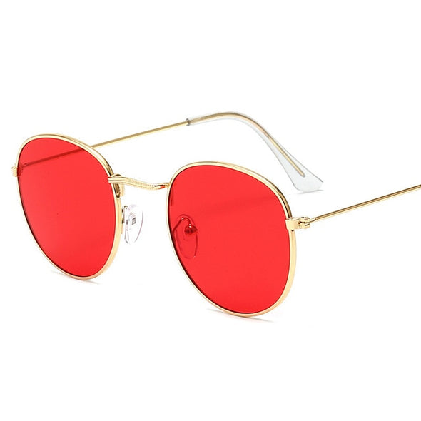 Mirror round Sun Glasses