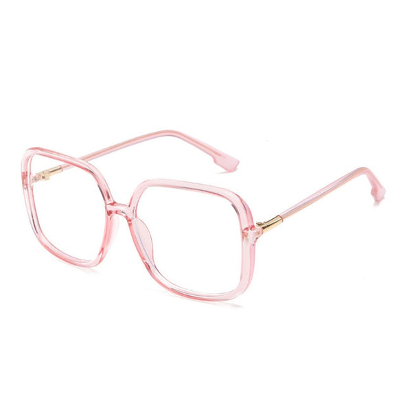 Macarons!Oversize Square Anti-blue Light Glasses Frame