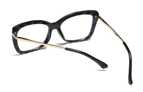Retro Crystal Cutting Glasses Frames