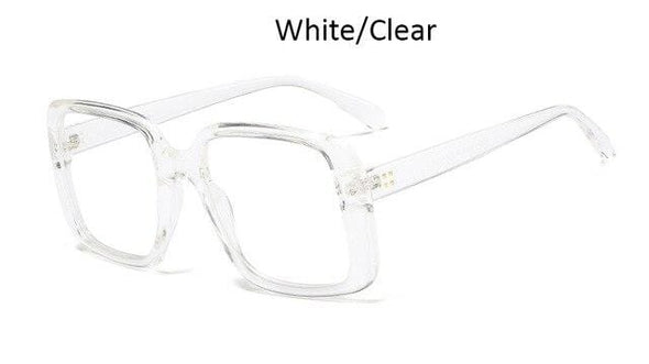 Square Glasses Oversized  fashion female eyeglasses
