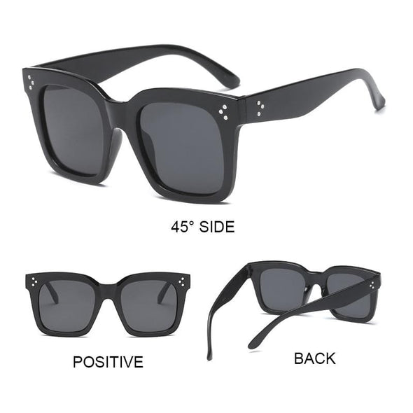 Yoovos 2019 New Square Sunglasses Women