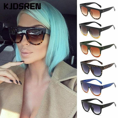 Oversized Shadow Shield Ladies Sun glasses