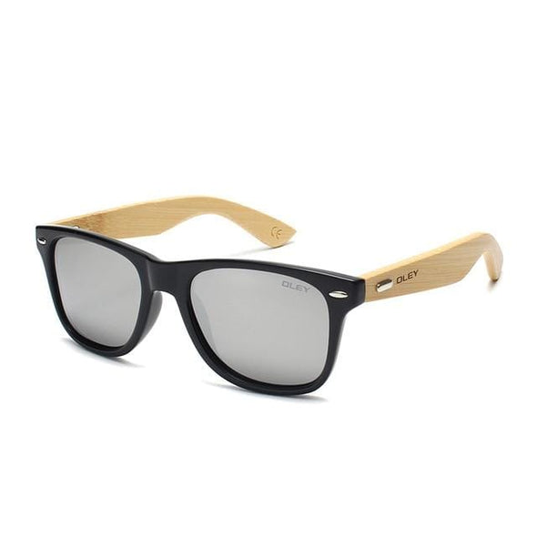 Bamboo Leg Polarized Men Sunglasses