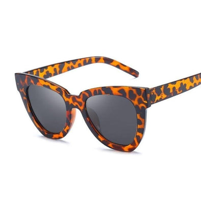 Cat Eye Sunglasses Leopard Glasses