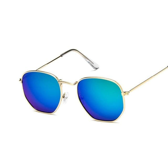 Round Sunglasses Women Mirror Sunglasses