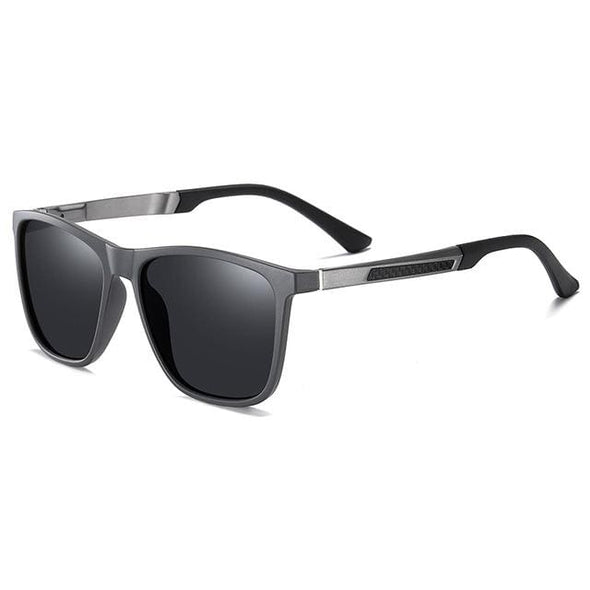 Polarized Sunglasses Men Frame Mirror Lens Fishing
