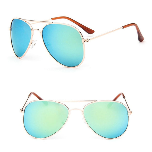 Classic Sunglasses Girls Colorful Mirror Children Glasses UV400