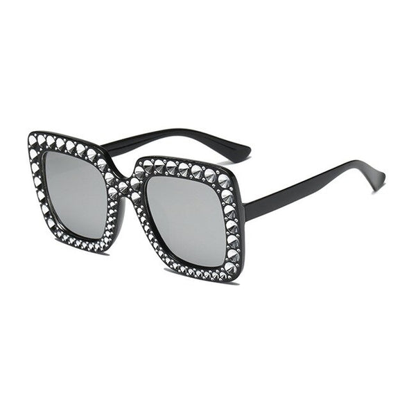Cheap Mirror Square Polarized Oversized Sunglasses