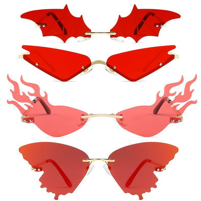 Fashion Fire Flame Sunglasses