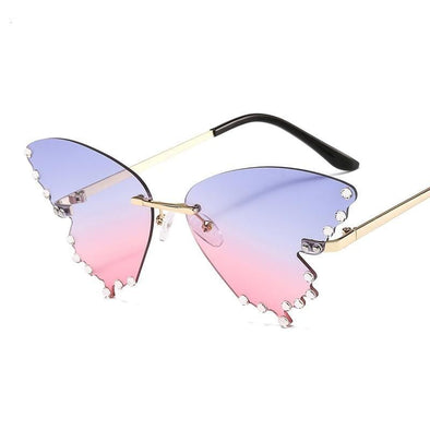 Butterfly Sunglasses  Flame
