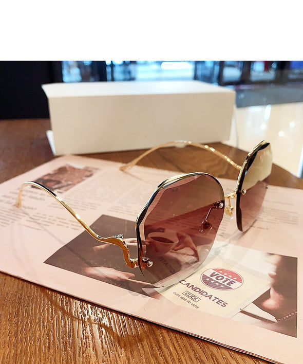 Cutting Lens Sunglasses For Women