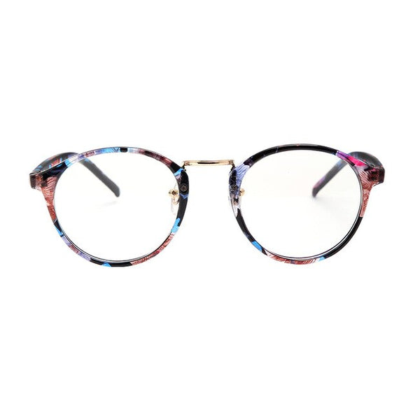 Fashion Transparent round glasses
