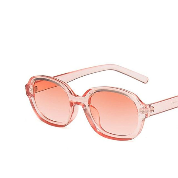 Yoovos Oval Women Sunglasses Small Frame Sunglasses Women Vintage Eyewear Brand Designer Sun Glasses Women Hip-Hop Men Okulary