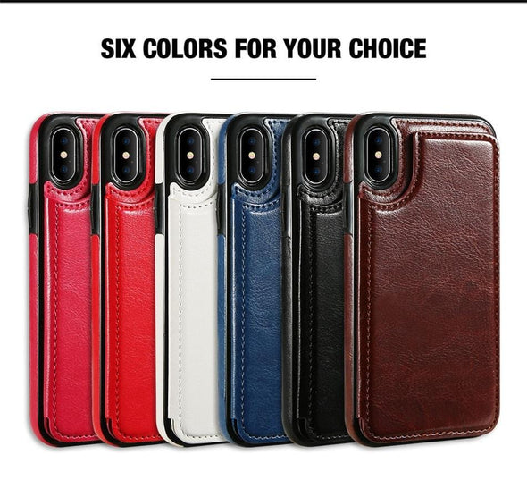 Card Slot Flip Wallet Case For Samsung A51 A71 A50 A70 Note 10 Plus Leather Case For Samsung Galaxy Note 20 S20 Ultra S8 S9 S10