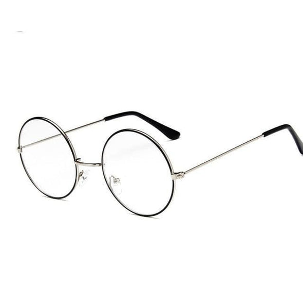 Round Clear Glasses Frame