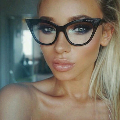 Retro Vintage Cat Eyes Glasses HOT