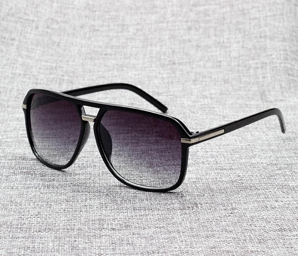 Oversized  big rectangle sunglasses