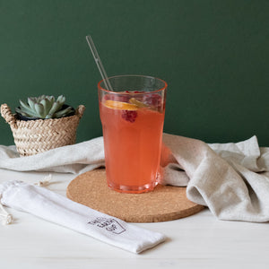 Reusable Glass Straw Set