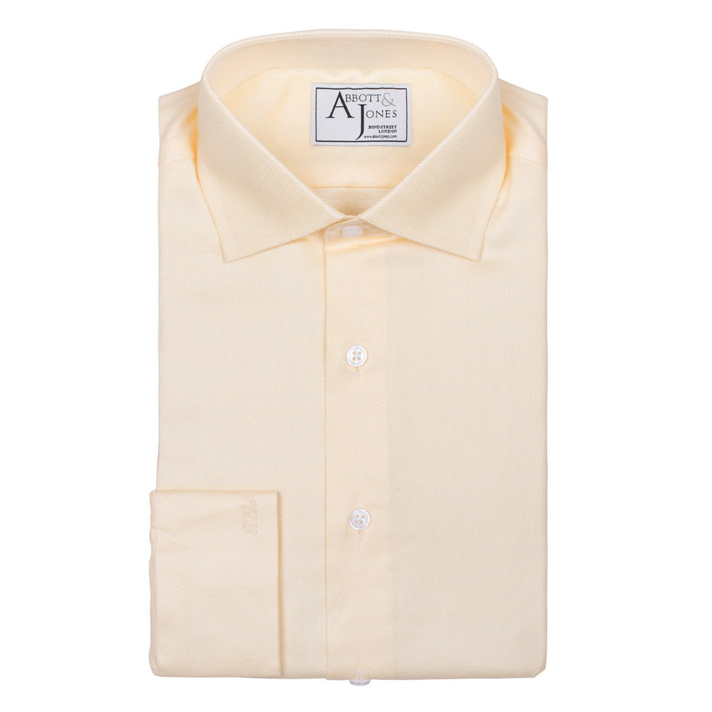 Yellow Bespoke Shirt