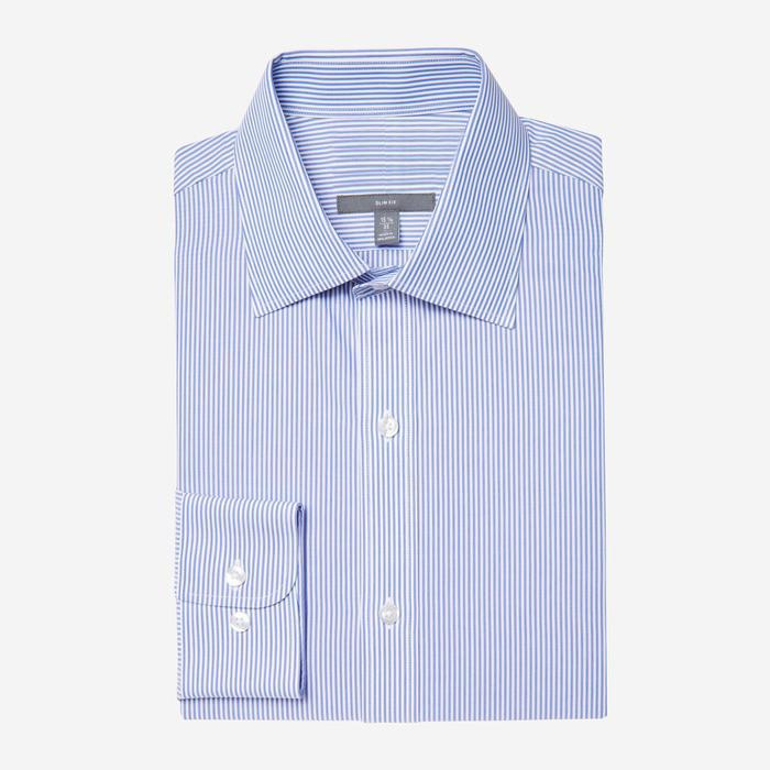 Bespoke - Harrison Blue Striped Shirt