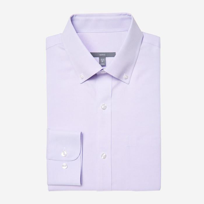 Bespoke - Button Down Liliac Oxford Shirt