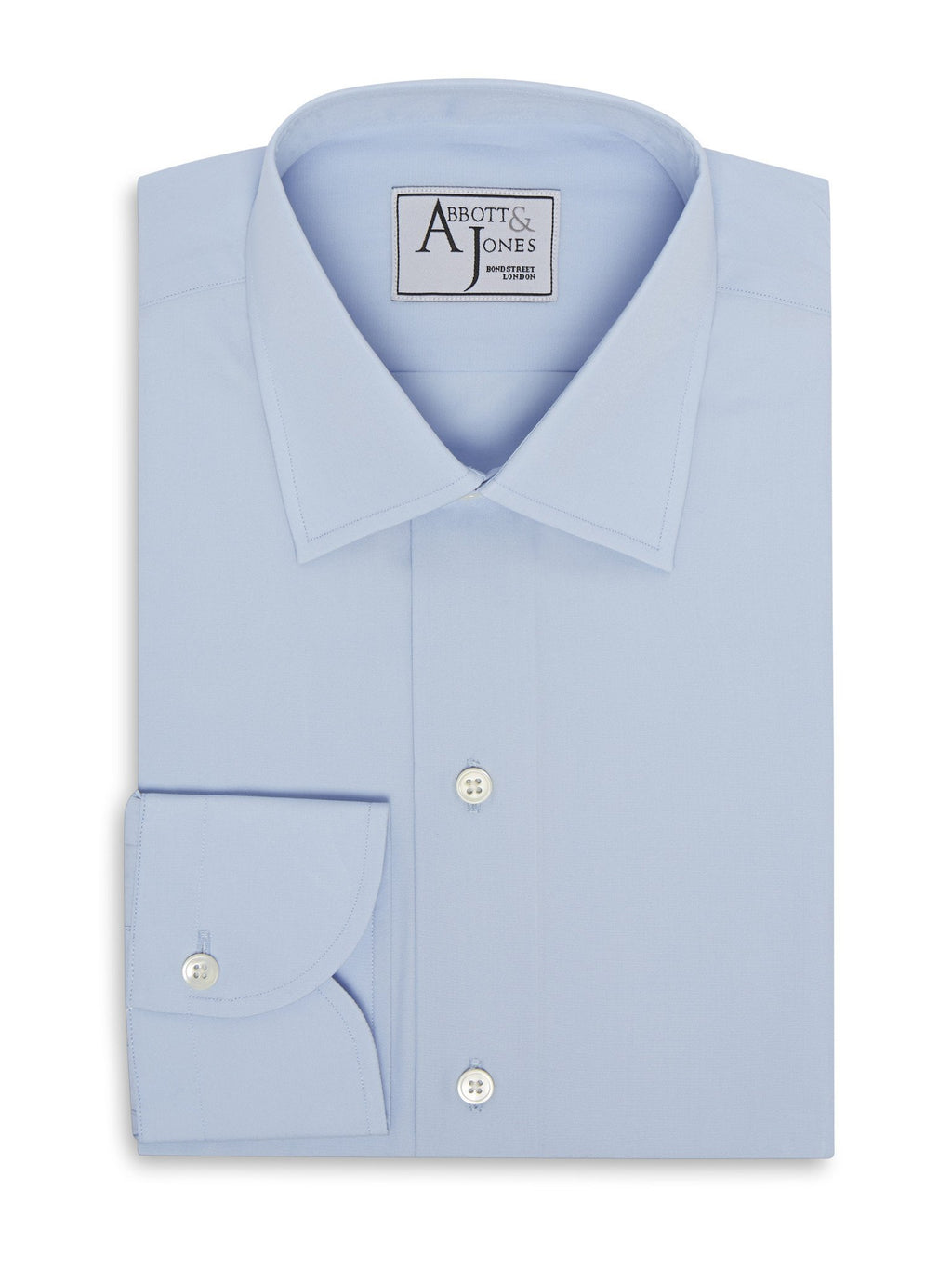 The Abbott & Jones Wrinkle Free Blue Shirt