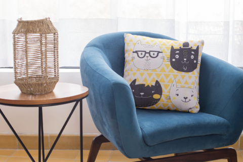 Cat Themed Cushion Covers