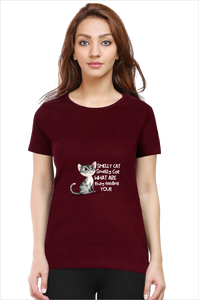 Smelly Cat Tee - Women