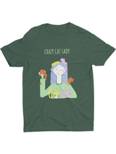 Load image into Gallery viewer, Crazy Cat Lady Tee - Women
