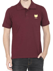 Meow Cat Polo Tee - Men