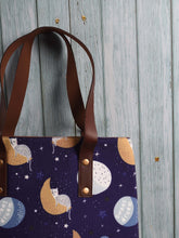 Load image into Gallery viewer, Moon, Stars & Cats Tote