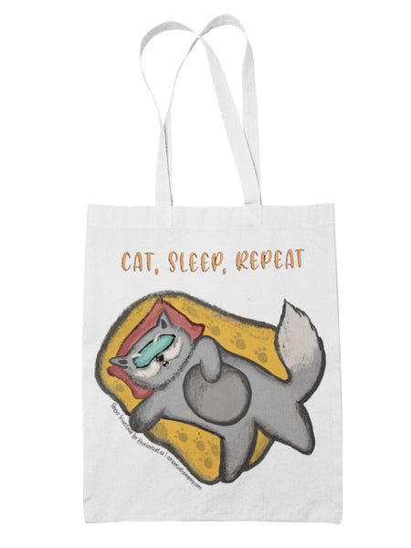 Cat Sleep Repeat (My Second Master) Bag