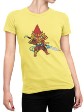 Load image into Gallery viewer, Samurai Cat Tee - Women