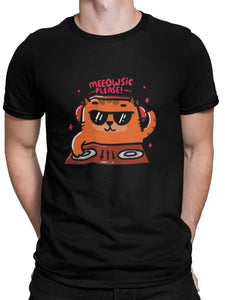 Meowsic Please Tee - Men