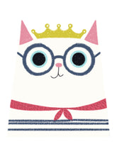 Load image into Gallery viewer, Cat with a Crown Tee - Women
